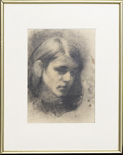 Odd nerdrum, drawing signed.