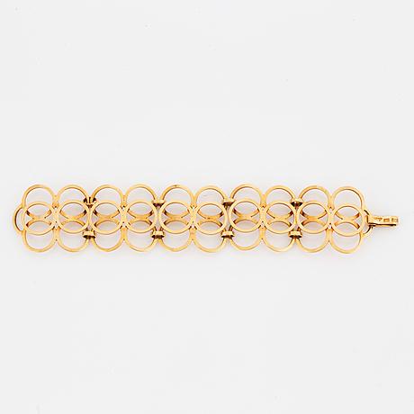 Cecilia johansson, armband, 18k guld.