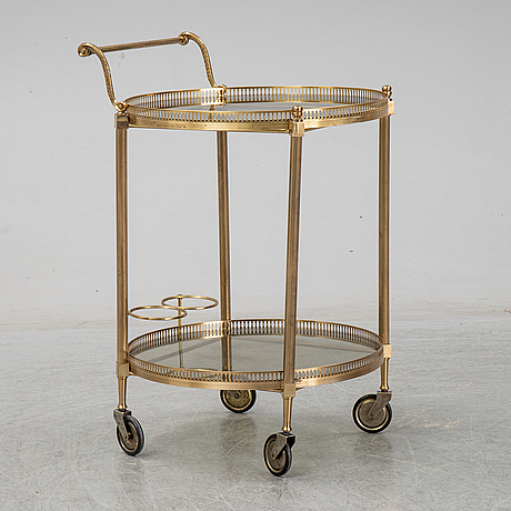 A 20th century serving trolley.