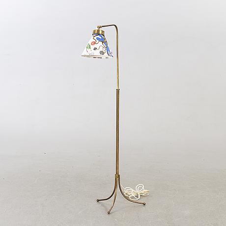 Josef frank golvlampa modellnummer 1842 1900-talets andra hälft.
