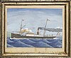 H sorensen svendborg, watercolour signed and dated 1901.