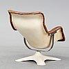 YrjÖ kukkapuro, a 'karusellii' easy chair, haimii, finland, 1960's/70's.