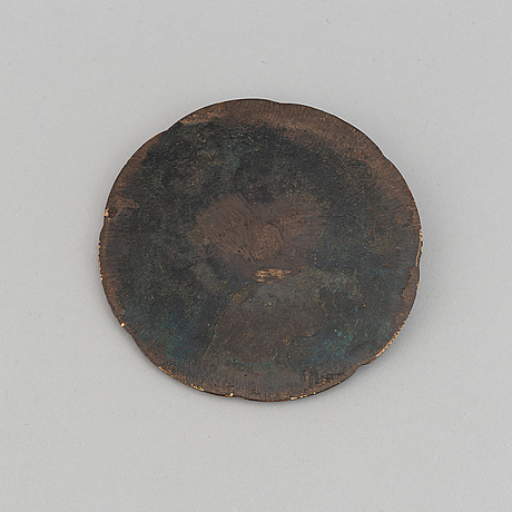 A bronze mirror, tang dynasty (618-907).