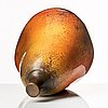 Hans hedberg, a faience sculpture of a large pear, biot, france.