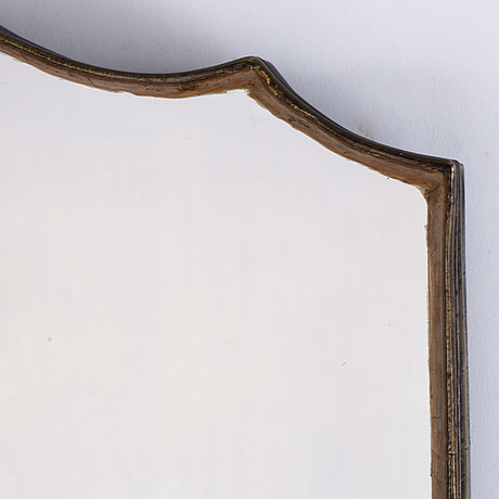 A dinner table plateau / mirror, probably french, 19th century.
