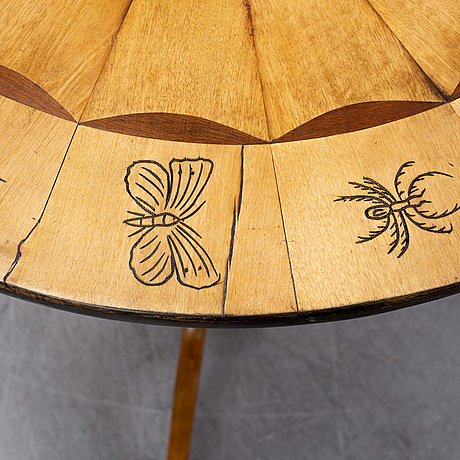 A 19th century table.