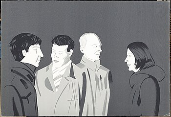 Alex Katz, serigraph, signed 44/90. Executed 2001.