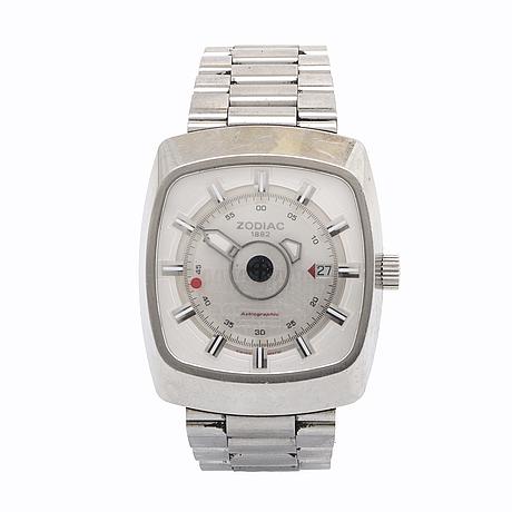 Zodiac astrographic 125th anniversary, wristwatch, 41 x 46 mm.