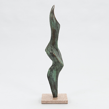 Stan wys, bronze, signed and dated 1998, numrerad 1/12.