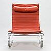 Poul kjaerholm, a danish 1995 'pk-20' lounge chair for fritz hansen.