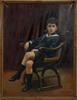 A. bosmans, olja på duk, belgien, sign o dat 1925.