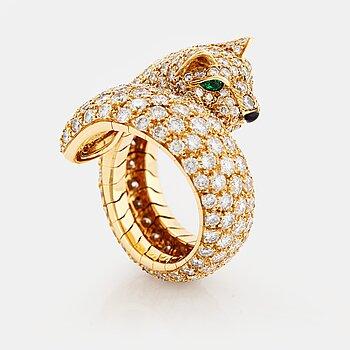 "892. Cartier ""Panthère"" a ring."