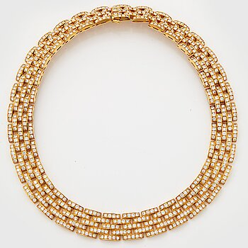 "896. Cartier 'Maillon Panthère"" a necklace."