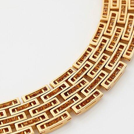 """Cartier 'maillon panthère"""" a necklace."""