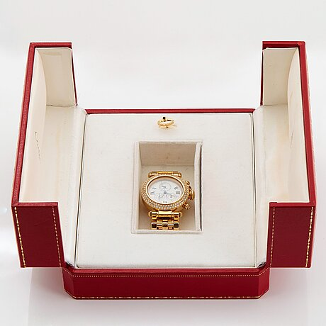 "Cartier ""pasha"" wristwatch."