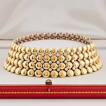 "908. Cartier ""Honeymoon"" a reversible necklace."