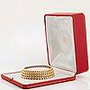 "Cartier ""honeymoon"" a reversible necklace."