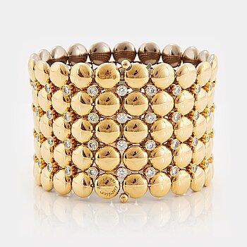 "909. Cartier ""Honeymoon"" a reversible bracelet."