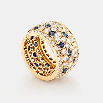 """911. Cartier """"Nigeria"""" a ring."""