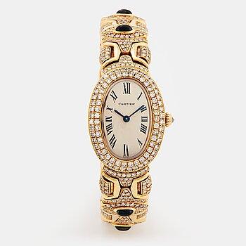 """912. Cartier """"Baignoire"""" wristwatch."""