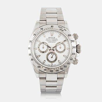 8. Rolex, Cosmograph, Daytona, chronograph.