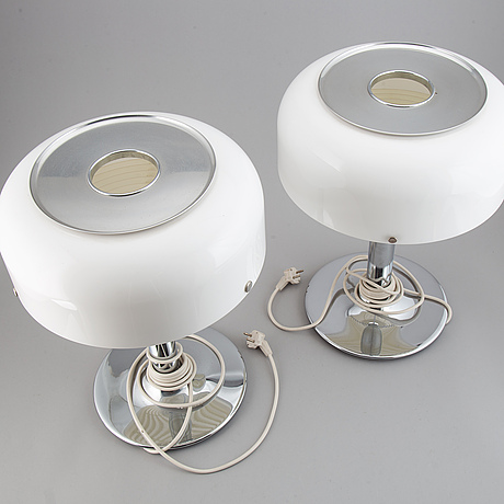 Anders pehrson, a pair of 'knubbling' table lights, atelje lyktan, Åhus.