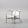 Mats theselius, a tubular steel 'sven' easy chair, källemo.