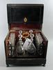 Dryckesschatull, 1800-talets slut.