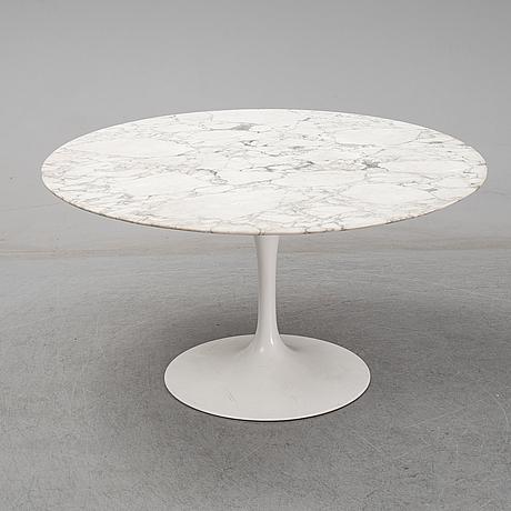 Eero saarinen, a 'tulip' marble table, knoll.