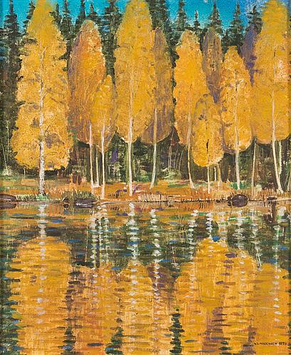 Veikko laukkanen, oil on canvas, signed and dated -59.