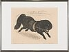 Ernst mether-borgström, etching, signed and numbered 10/60.
