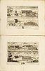 Fischer & burman, 'prospecter af åtskillige märkvärdige byggnader...', 24 planscher, stockholm 1756, 24 engravings.