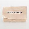 Louis vuitton, a 'colourline bag charm and key holder.