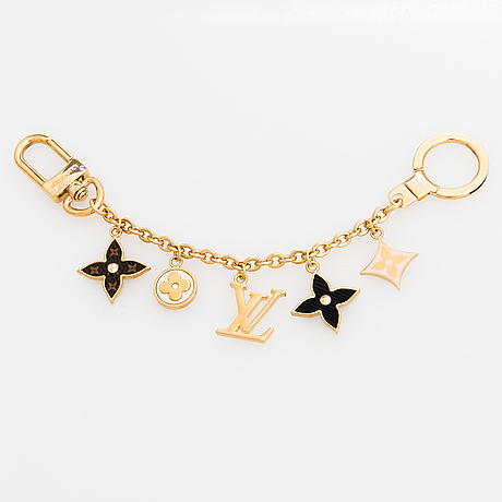 Louis vuitton, a 'spring street' chain bag charm.