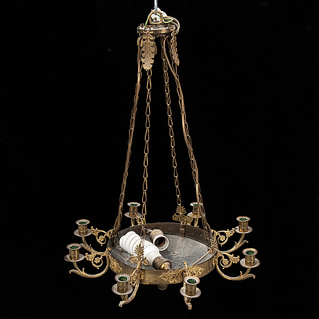 A mid 19th century ceiling light.
