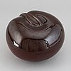 Sigurd persson, a sculpture, stoneware, signed, dated and numbered sigp -73 4/13.