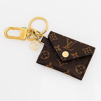 Louis Vuitton, Kirigami Pouch Bag Charm and Key Holder.