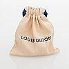 Louis vuitton, a 'fleur de monogram' bag charm.