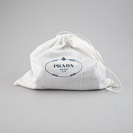 Prada, a marsupio backpack.