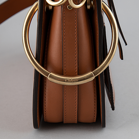 ChloÉ, a small caramel 'roy bag'.