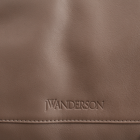 Jw anderson, a leather bag.