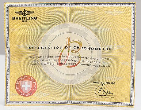 Breitling, colt automatic, 200m, wristwatch, 44 mm.