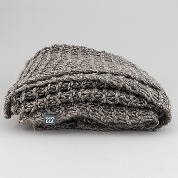 Eldblå, a Gotlandic wool blanket.