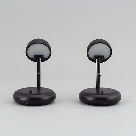 Ichiro iwasaki, a pair of 'pin' bedside lights for vibia.
