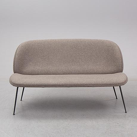 "Gamfratesi, a ""beetle sofa"", gubi, ca 2017."
