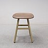 """Note design studio, a """"shell"""" stool for karl andersson & söner, 21st century."""
