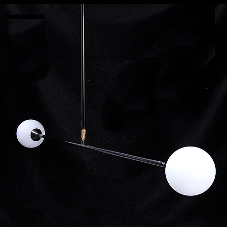 A spheres ceiling light by atelier areti.