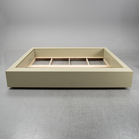 Note design studio, a bed frame, custom made for hidden tints; made by lerch snickeri & inredningar.