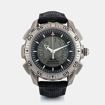"45. Omega, Speedmaster X-33, ""Space-Flown"", ""Christer Fuglesang, STS-128""."