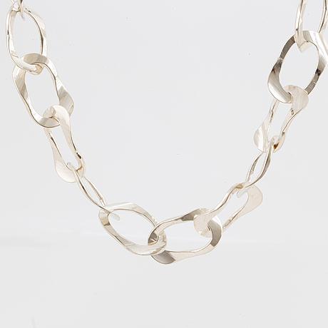 Jan eve stengÅrd, necklace, silver.